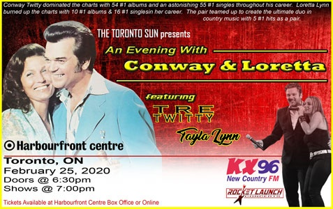 An Evening with Conway & Loretta