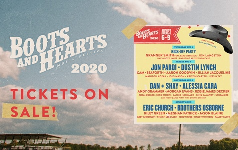 Boots & Hearts 2020 [CANCELLED]