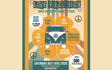 Love Revolution - Drive-In Country Music Festival