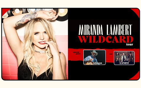 Miranda Lambert [CANCELLED]